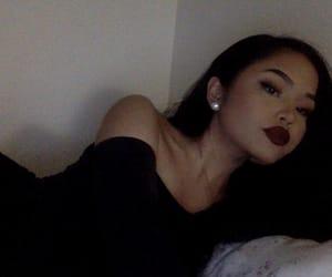 girl, melissa calma, and brunette image