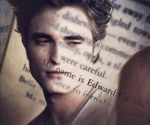book, edward cullen, and Hot image
