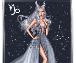 art, zodiac, and stars image
