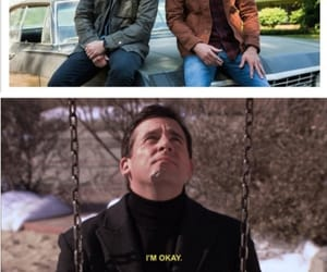 brothers, crowley, and dean winchester image