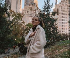 fashion, hair, and new york city image