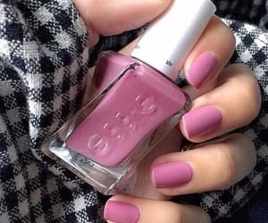 manicure, pink, and essie image