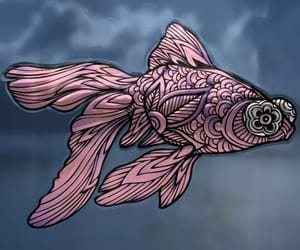 art, download, and fishy image
