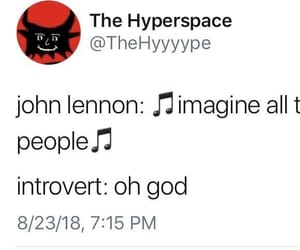 fun, funny, and introvert image