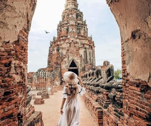 travel, girl, and photography image