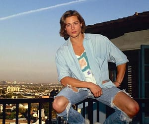 brad pitt, boy, and young image