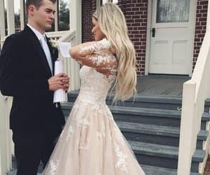 dresses, prom dresses, and wedding dresses image