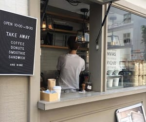 boy, cafe, and style image
