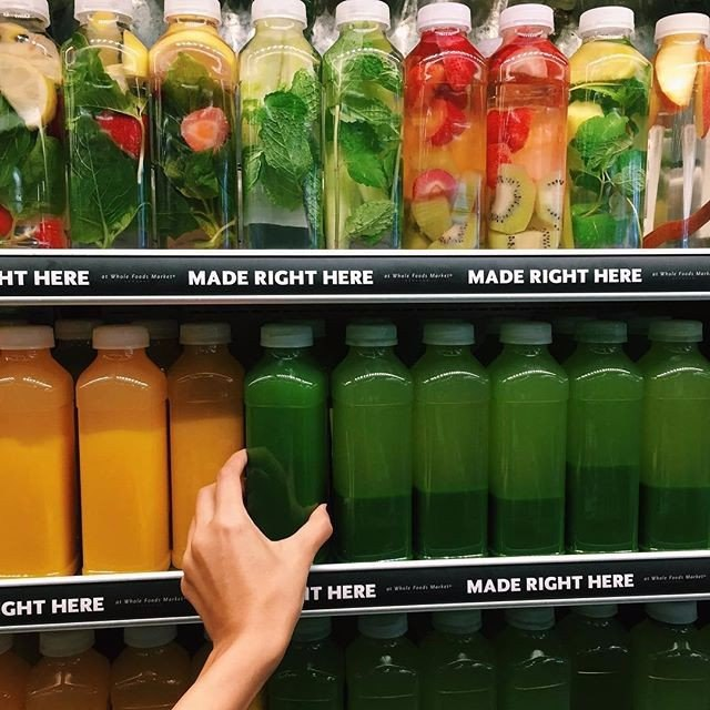 juice, green, and fruit image