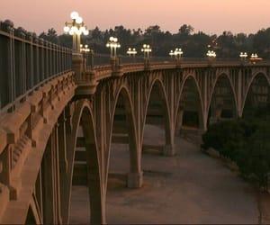 lana del rey, colorado street bridge, and pasadena bridge image