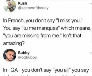 french, funny, and Georgia image