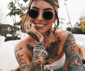 cool, girl, and smile image