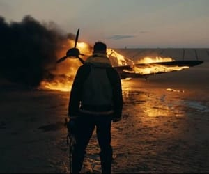fire, movie, and dunkirk image