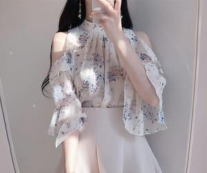 asian fashion, blouse, and 유행 image