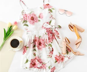 dress, fashion, and summer outfits image