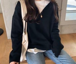 outfit, girl, and kfashion image