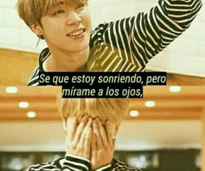 frases, sad, and bts image