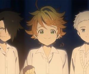 animated, emma, and yakusoku no neverland image