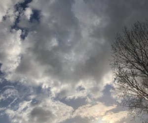 aesthetic, cloud, and day image