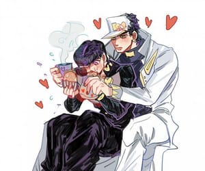 anime, josuke higashikata, and jojos bizarre adventure image