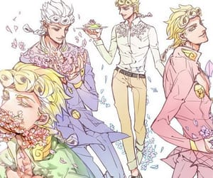 anime, giorno giovanna, and jojos bizarre adventure image