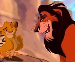 lion king, simba, and scar image