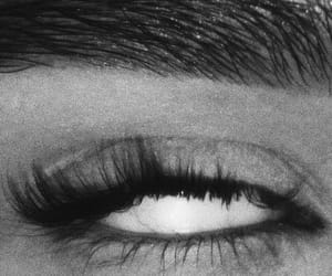 eyes, black and white, and aesthetic image