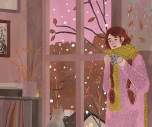 animated gif, gif, and snow image