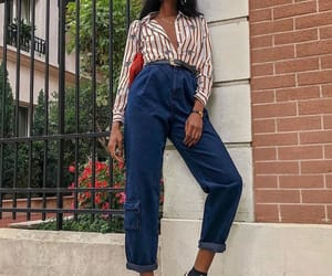 fashion, jeans, and outfit inspiration image