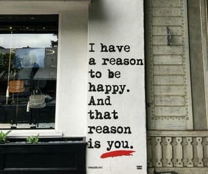 happy, reason, and love image