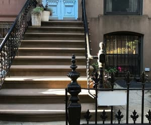 brownstone, stairs, and steps image