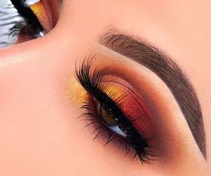 beauty, fashion, and eyeshadow image
