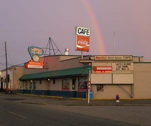 aesthetic, rainbow, and vintage image