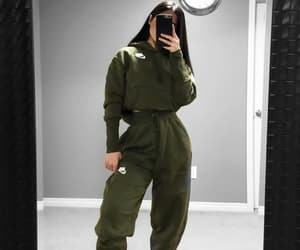 fashion, clothing, and green image