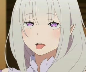 anime, ahegao, and emilia image