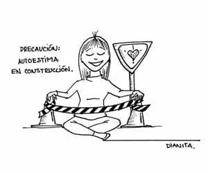 autoestima, love yourself, and cuidado image