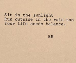 quotes, rain, and words image