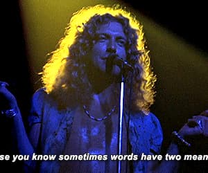 70s, concert, and robert plant image