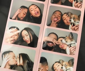 couple, cute, and photobooth image