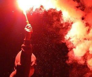 explosion, gryffindor, and fireworks image