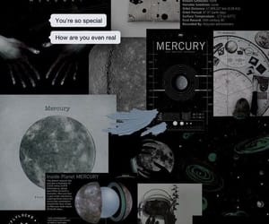 wallpaper, black, and mercury image