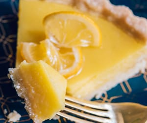 pretty food, tart recipes, and best desserts image