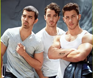jonas brothers, nick jonas, and kevin jonas image
