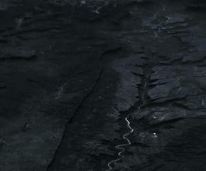 dark, river, and landscape image