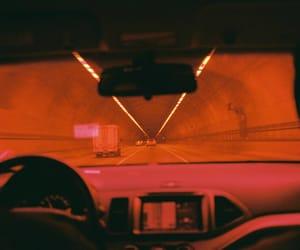 car, orange, and aesthetic image