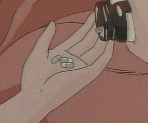 anime, pills, and aesthetic image