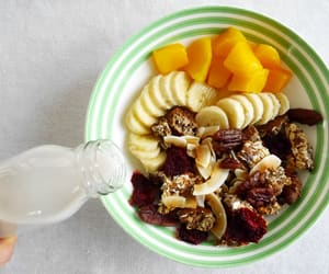 breakfast, tropical, and eat image