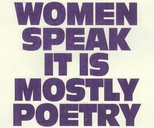 quotes, woman, and poetry image