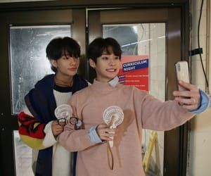 hyunjin, Minho, and stray kids image