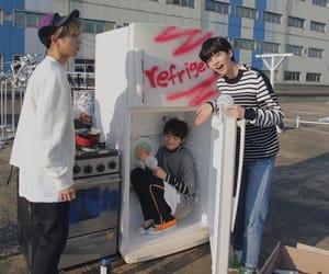 i.n, stray kids, and hyunjin image